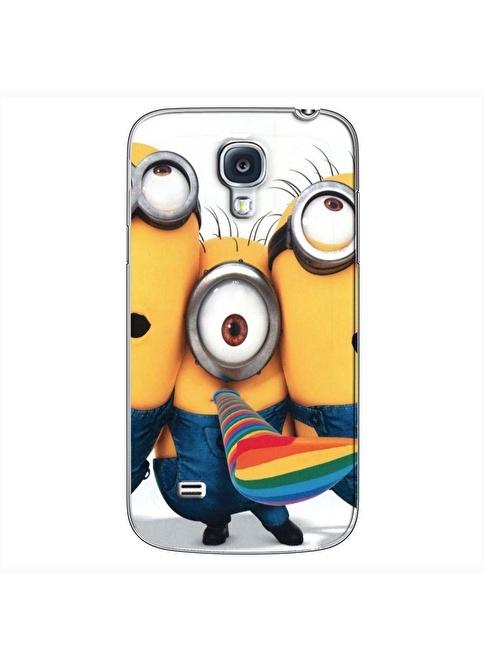 People's Cover S4 Mini Kabartmalı Telefon Kılıfı Renkli